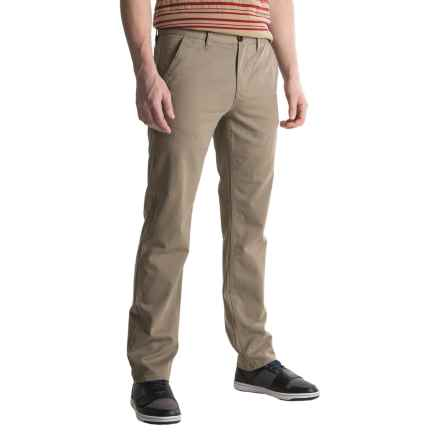 Timberland Squam Lake Twill Chino Pants - Straight Fit, Organic Cotton (For Men) in Brindle - Closeouts