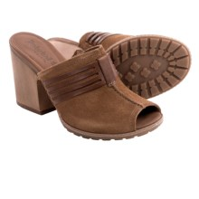 Timberland Strafford Sandals - Suede (For Women) in Brown Suede - Closeouts