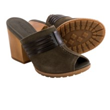 Timberland Strafford Sandals - Suede (For Women) in Olive Suede - Closeouts