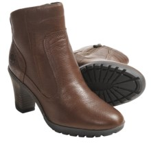 Timberland Stratham Heights Ankle Boots - Leather (For Women) in Medium Brown - Closeouts