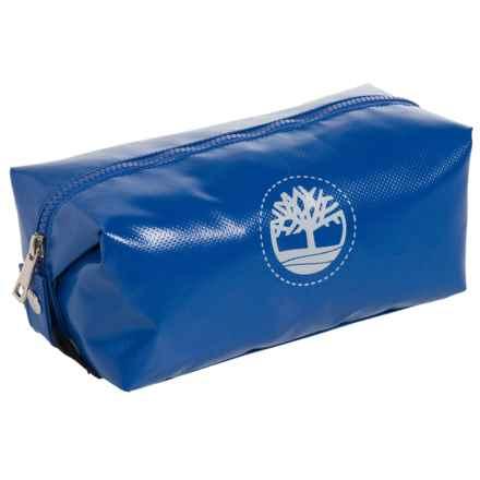Timberland Tarp Tree-Printed Travel Kit in Royal Blue - Closeouts