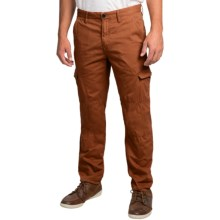 Timberland Thompson Lake Cargo Pants - Slim Fit (For Men) in Glazed Ginger - Closeouts