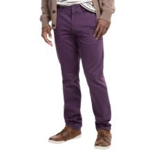 Timberland Thompson Lake Chino Pants (For Men) in Purple Pennant - Closeouts