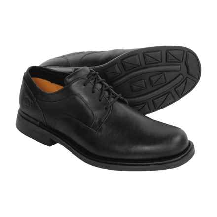 Timberland Torrance Shoes - Leather Oxfords (For Men) in Black/Smooth Leather - Closeouts