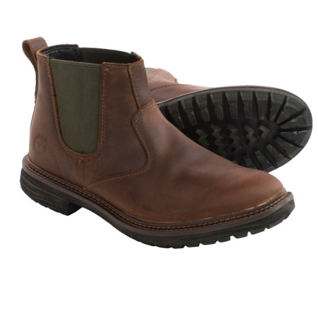 Timberland Tremont Chelsea Leather Boots (For Men)