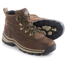Timberland White Ledge Hiking Boots - Waterproof, Leather (For Big Kids) in Brown - Closeouts