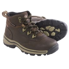 Timberland White Ledge Hiking Boots - Waterproof, Leather (For Little Kids) in Brown - Closeouts