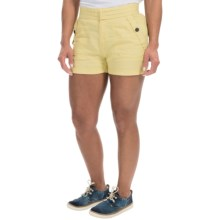 Timberland Winnicut River Shorts - Linen-Cotton (For Women) in Dusky Citron - Closeouts