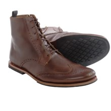 Timberland Wodehouse Wingtip Boots - Leather (For Men) in Brown - Closeouts