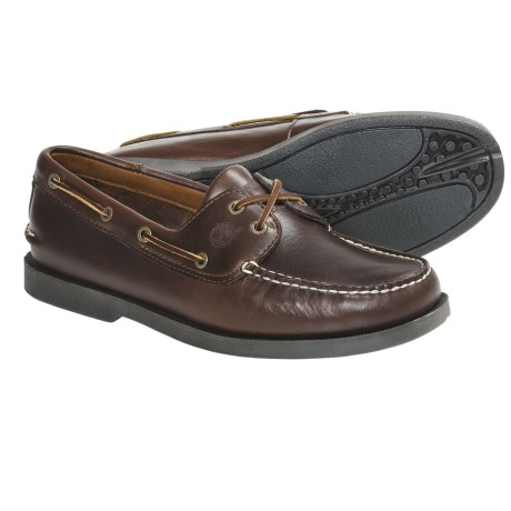 Timberland Youngstown Boat Shoes (For Men) in Brown Oiled