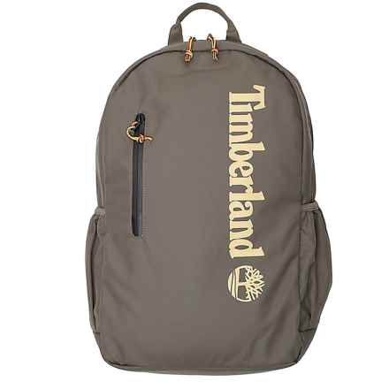 Timberland Zip-Top Linear Logo 22L Backpack (For Men) in Grape Leaf - Overstock