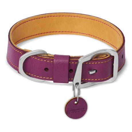 Timberline Dog Collar - Leather