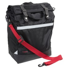 Timbuk2 Alemany Cycling Pannier Bag in Black/Crimson - Closeouts