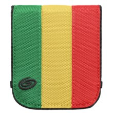 Timbuk2 Bifold Wallet in Emerald/Reso Yellow/Bixi Red - Closeouts