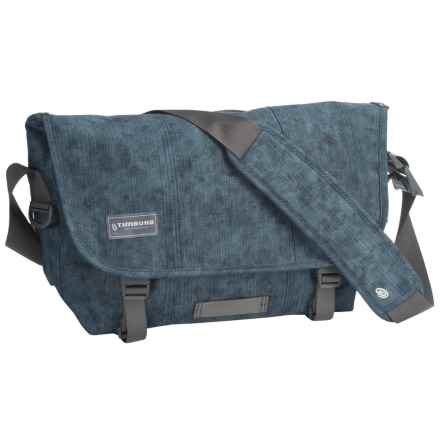 Timbuk2 Classic Canvas Messenger Bag - Medium in Acid Denim - Closeouts