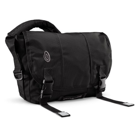 Timbuk2 Classic Messenger Bag - Extra Small, Ballistic Nylon in Black/Black/Black