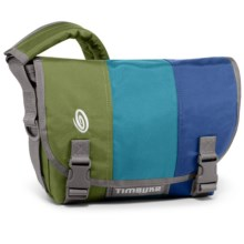 Timbuk2 Classic Messenger Bag - Extra Small in Algae Green/Aloha Blue/Night Blue - Closeouts