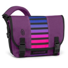 Timbuk2 Classic Messenger Bag - Extra Small in Village Violet Weathered Canvas/Cobalt Sunset Stri - Closeouts