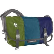 Timbuk2 Classic Messenger Bag - Large in Algae Green/Aloha Blue/Night Blue - Closeouts