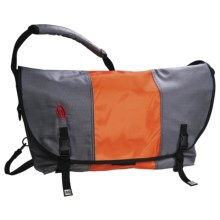 Timbuk2 Classic Messenger Bag - Limited Edition, XL  in Gunmetal/Flame/Gunmetal - Closeouts