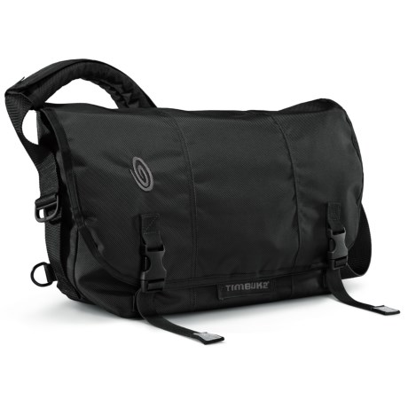 Timbuk2 Classic Messenger Bag - Medium, Ballistic Nylon in Black/Black/Black