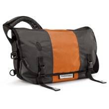 Timbuk2 Classic Messenger Bag - Medium, Ballistic Nylon in Carbon/Rust/Carbon - Closeouts