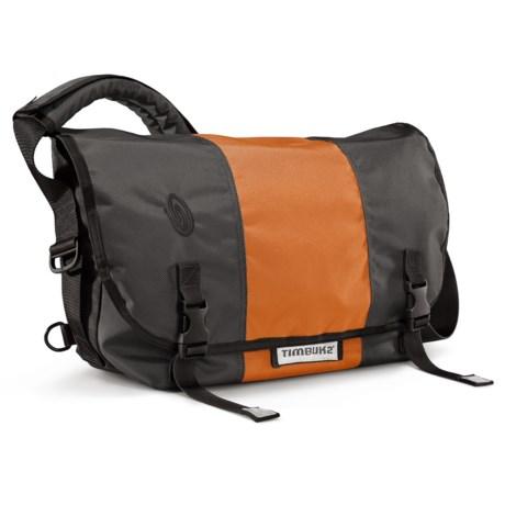 Timbuk2 Classic Messenger Bag - Medium, Ballistic Nylon in Carbon/Rust/Carbon