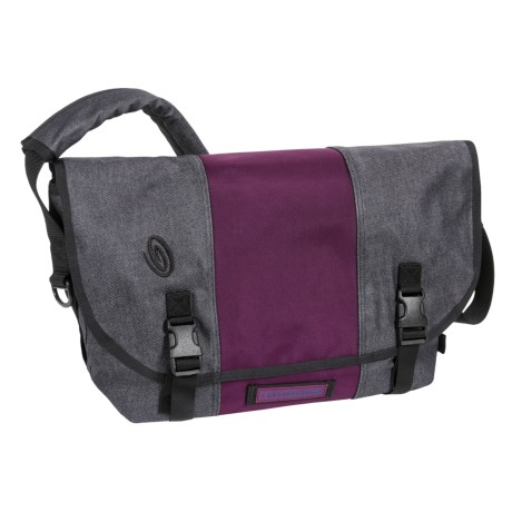 Timbuk2 Classic Messenger Bag - Medium, Ballistic Nylon in Denim/Village Violet/Denim