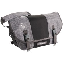 Timbuk2 Classic Messenger Bag - Medium, Ballistic Nylon in Grey Texture/Carbon/ Grey Texture - Closeouts