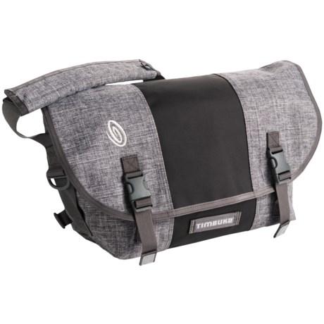 Timbuk2 Classic Messenger Bag - Medium, Ballistic Nylon in Grey Texture/Carbon/ Grey Texture