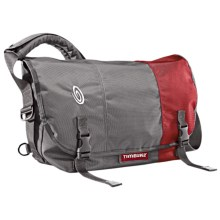 Timbuk2 Classic Messenger Bag - Medium in Gunmetal/Gunmetal/Revlon Red - Closeouts