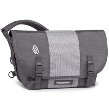 Timbuk2 Classic Messenger Bag - Medium in Gunmetal Wax Canvas/Train Conductor/Gunmetal Wax C - Closeouts