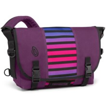 Timbuk2 Classic Messenger Bag - Medium in Village Violet Weathered Canvas/Cobalt Sunset Stri - Closeouts