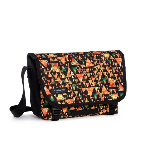 Timbuk2 Classic Messenger Bag Print - Extra Small in Tech Triangle