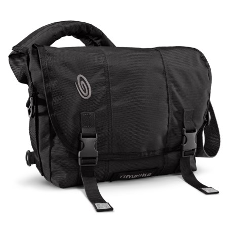 Timbuk2 Classic Messenger Bag - Small, Ballistic Nylon in Black/Black/Black