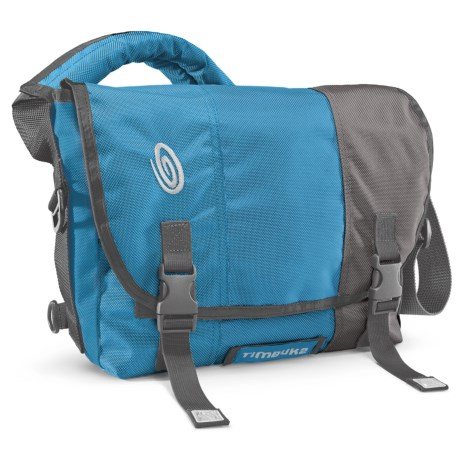 Timbuk2 Classic Messenger Bag - Small, Ballistic Nylon in Cold Blue/Cold Blue/Gunmetal