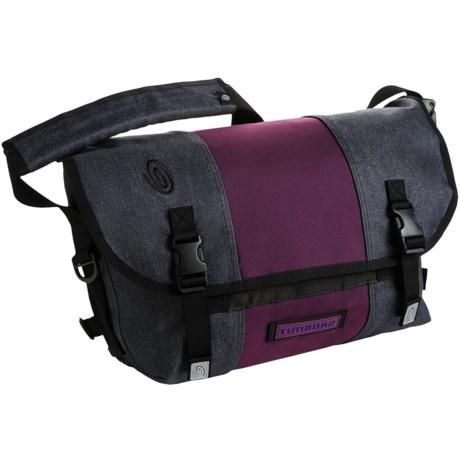 Timbuk2 Classic Messenger Bag - Small, Ballistic Nylon in Confetti/Mulberry