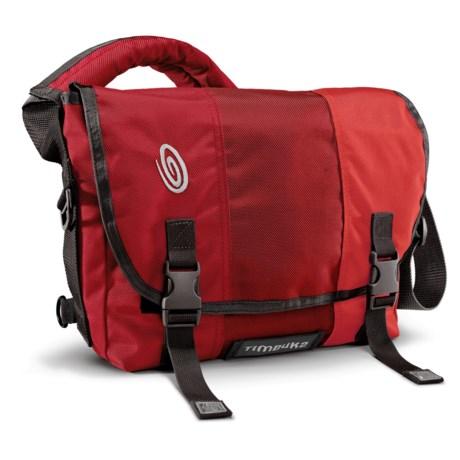 Timbuk2 Classic Messenger Bag - Small, Ballistic Nylon in Rev Red/Rev Red/Bixi Red