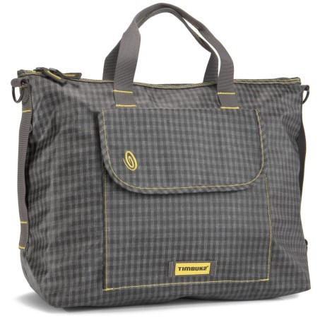 Timbuk2 Clipper Tote Bag - Medium in Indie Plaid/Reso Yellow