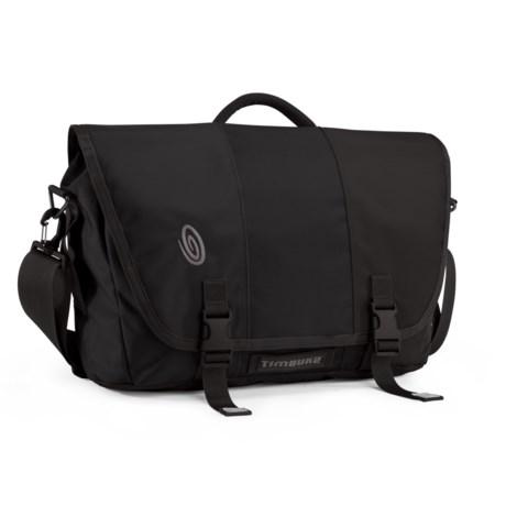 Timbuk2 Commute 2.0 Messenger Bag - Medium in Black/Black/Black