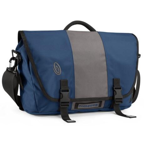 Timbuk2 Commute 2.0 Messenger Bag - Small in Dusk Blue/Gunmetal/Dusk Blue