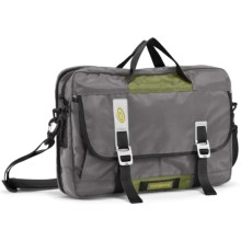 Timbuk2 Control Laptop Briefcase - Small in Gunmetal/Algae Green - Closeouts