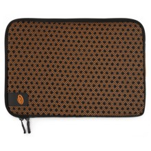 Timbuk2 Crater Laptop Sleeve - Small in Carbon/Tangerine - Closeouts