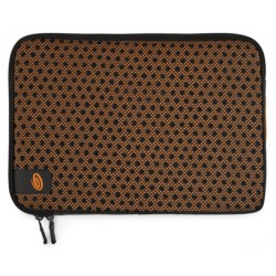 Timbuk2 Crater Laptop Sleeve - Small in Carbon/Tangerine