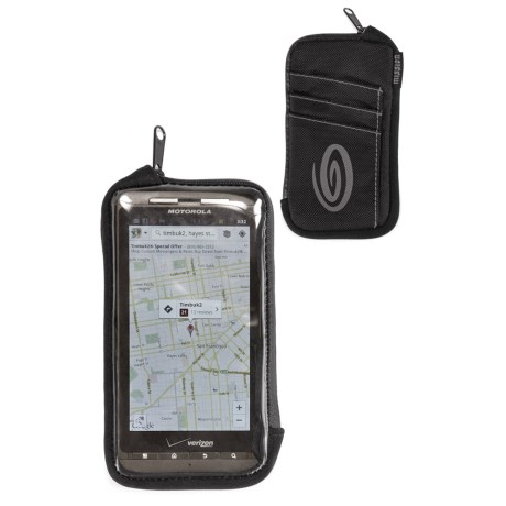 Timbuk2 Cycling Phone Wallet - Android Compatible in Black