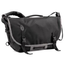 Timbuk2 D-Lux Laptop Bondage Messenger Bag - Large in Black/Gunmetal - Closeouts