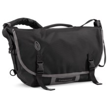 Timbuk2 D-Lux Laptop Bondage Messenger Bag - Medium in Black/Gunmetal - Closeouts