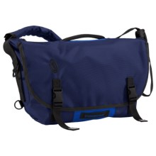 Timbuk2 D-Lux Laptop Bondage Messenger Bag - Medium in Night Blue/Pacific - Closeouts