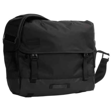 Timbuk2 Heist Messenger Bag in Jet Black - Closeouts