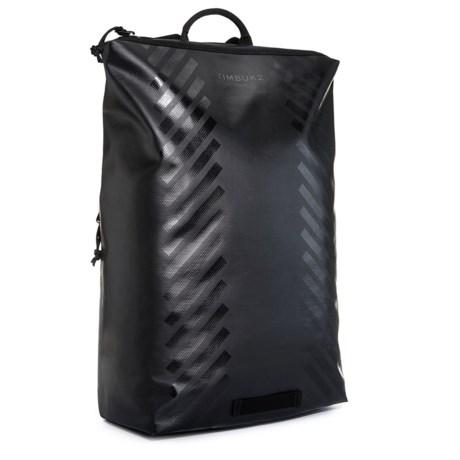 Timbuk2 Heist Zip Reflective Backpack in Jet Black